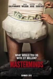 Masterminds (2016) ปล้น วาย ป่วง