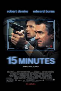 15 Minutes (2001) คู่อำมหิต ฆ่าออกทีวี