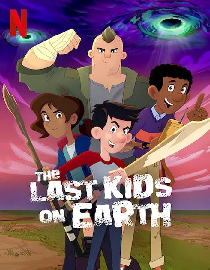 The Last Kids on Earth: Happy Apocalypse to You (2021) สี่ซ่าท้าซอมบี้: สุขสันต์วันหลังโลกแตก